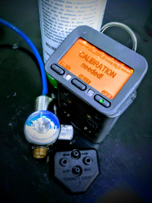 Calibração Gases Tecnovip Detector Gas