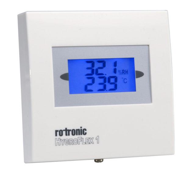 Transmissor Umidade e temperatura Rotronic Tecnovip HF3 Display