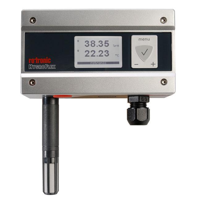Transmissor Umidade e temperatura Rotronic Tecnovip HF4 Display