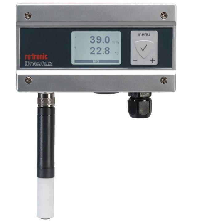 Transmissor Umidade e temperatura Rotronic Tecnovip HF5 Display